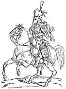 Cacciatore e a cavallo della Vecchia Guardia Adolphe de Chesnel