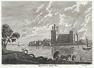 Caernarvon Castle. Pl.1