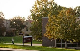 Cairn University - Cairn University's Music Building (left) and Biblical Learning Center (right).