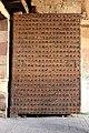 Cairo, porte settentrionali, 04 porta chiodata.JPG