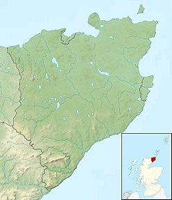 Morven is located in Caithness