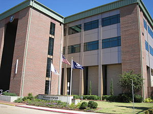 Calcasieu Parish, Louisiana - Calcasieu Parish Police Jury building