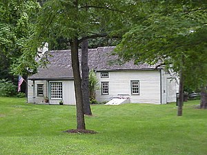 National Register of Historic Places listings in Pike County, Pennsylvania - Image: Callahan House DWG NPS