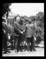 Calvin Coolidge and African American man at White House, Washington, D.C. LCCN2016894255.tif