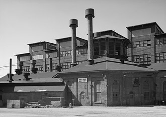 Cambria Iron Company - Blacksmith Shop in 1958