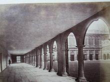 Cambridge university trinity college nevile s court colonnade
