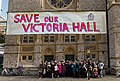 Campaigners Protest Against Sale of Victoria Hall, Ealing 2.jpg