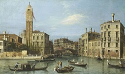 Canaletto: Venice: San Geremia and the Entrance to the Cannaregio