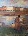 Capitole Toulouse - Salle Henri-Martin - Les Bords de la Garonne, le poète, par Henri Martin, (1906).jpg