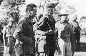 Dorothy Canfield Fisher -  Battalion Surgeon Captain James Fisher with his comrades in the Philippines during World War II.