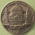 Caradosso, med. di giulio II con progetto di nuovo s. pietro, 1506.JPG