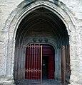 Carcassonne, Aude, Église St Vincent (porte sud).jpg