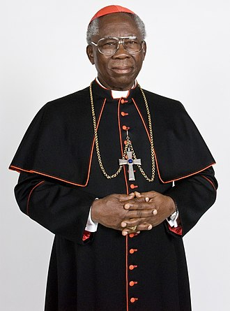 Cardinals created by John Paul II - Francis Arinze (b. 1932), made a cardinal on 25 May 1985.