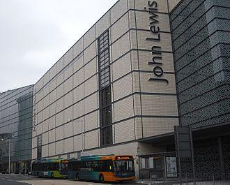John Lewis (department store) - John Lewis store in Cardiff.