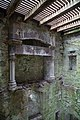Cardoness Castle - interior view of fireplace at upper level.jpg