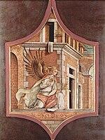 Carlo Crivelli - Angel of the Annunciation (Städel Frankfurt).jpg