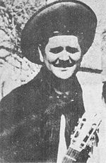 Carlos Molina en su juventud.
