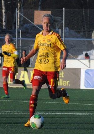 Caroline Seger - Seger playing for Tyresö in 2013