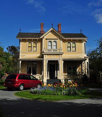 Emily Carr House - Image: Carr House 1863