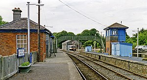 Carrick-on-Suir railway station - The station in 1993