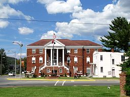 Carter County Courthouse i Elizabethton.