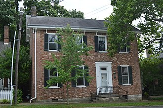 National Register of Historic Places listings in Woodford County, Kentucky - Image: Carter House in Versailles