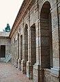 Cartoixa d'Ara Christi, arcades del claustre de llevant.jpg