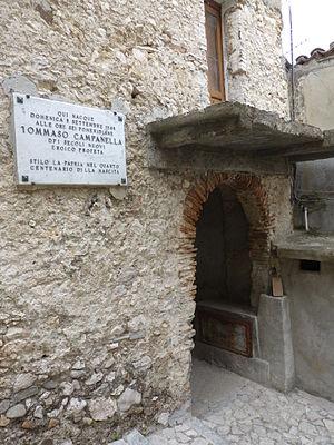 Tommaso Campanella -  Tommaso Campanella's house at Stilo