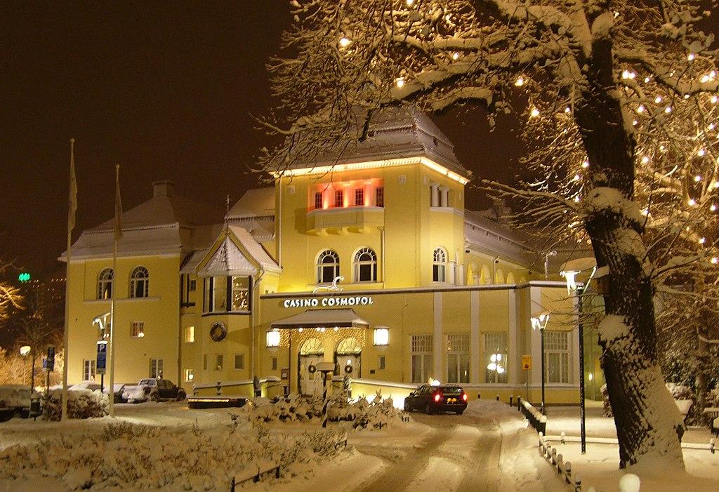 Casino-Cosmopol, Malmö, winter