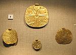 Castello di bodrum, museo, dischi dorati, arte canaanita, 01.JPG