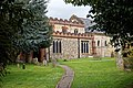 Castle Hedingham, St Nicholas' Church, Essex England, south aisle, clerestory and chancel.jpg