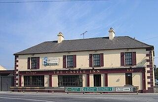 Castledermot Town in Leinster, Ireland