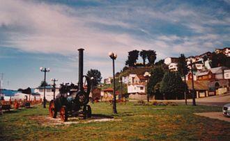 Castro, Chile - Plazuela del Tren park