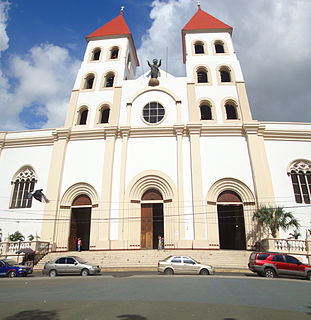 Cathedral Basilica of Queen of Peace, San Miguel Church in San Miguel, El Salvador