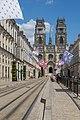 Cathédrale d'Orléans, vue de la rue Jeanne d'Arc.jpg