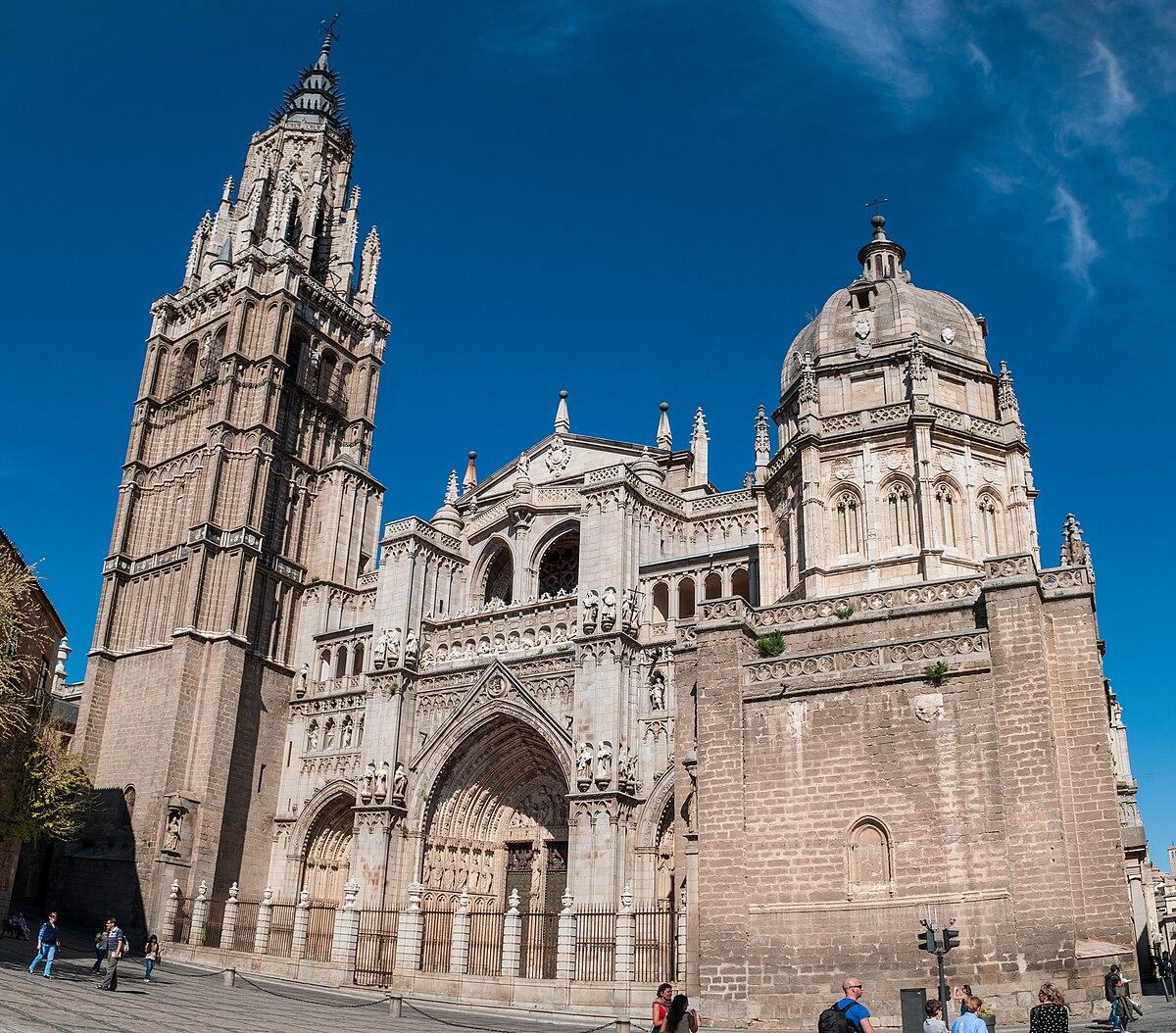 Catedral de toledo wikipedia la enciclopedia libre for Arquitectura de espana