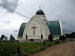 Our Lady of Peace Cathedral, a landmark of Bukavu