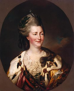 Catherine II by Richard Brompton (1782, Hermitage).jpg