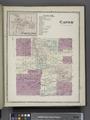 Caton Center (Village); Caton Business Notices.; Caton (Township) NYPL1603022.tiff