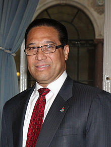 Cayman Islands Premier Alden McLaughlin in London, 13 June 2013 (cropped).jpg