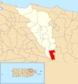 Cedro, Carolina, Puerto Rico locator map.png