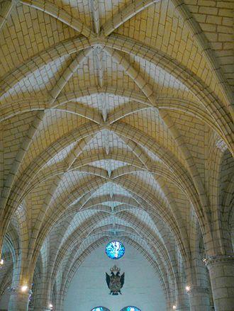 Basilica Cathedral of Santa María la Menor - Image: Ceiling Cat St Maria Menor DR2007