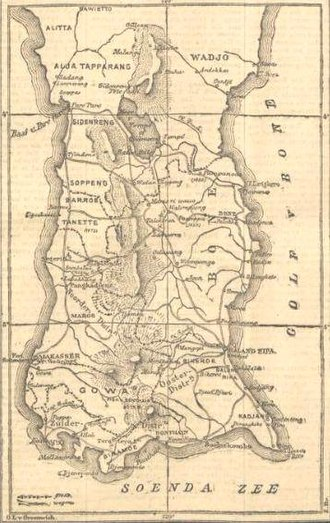South Sulawesi - Celebes Map 1905
