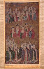 Celestial Buddhas and Deities of the Eastern and Southern Dipper Constellations