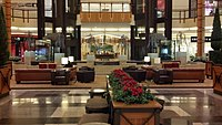 Center court at The Shops at Willow Bend-January2013.jpg