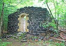 Central Mine Historic District MI 2009 Powderhouse