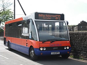 Yorkshire Tiger - Optare Solo in May 2010