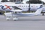 Cessna 150M (VH-SLL) taxiing at Wagga Wagga Airport.jpg