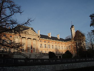 Savoy - The Château de Chambéry, seat of government, was given a grand new façade following annexation