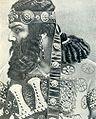 "Chaliapin F. (Шаляпин Ф. И.) 1898 as Holofernes in Serov's ""Judith"".jpg"